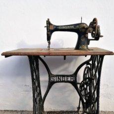 Antigüedades: MAQUINA DE COSER SINGER. PRINCIPIO DE SIGLO. Lote 119362511