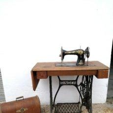 Antigüedades - Maquina de coser SINGER. Años 20 - 119364267
