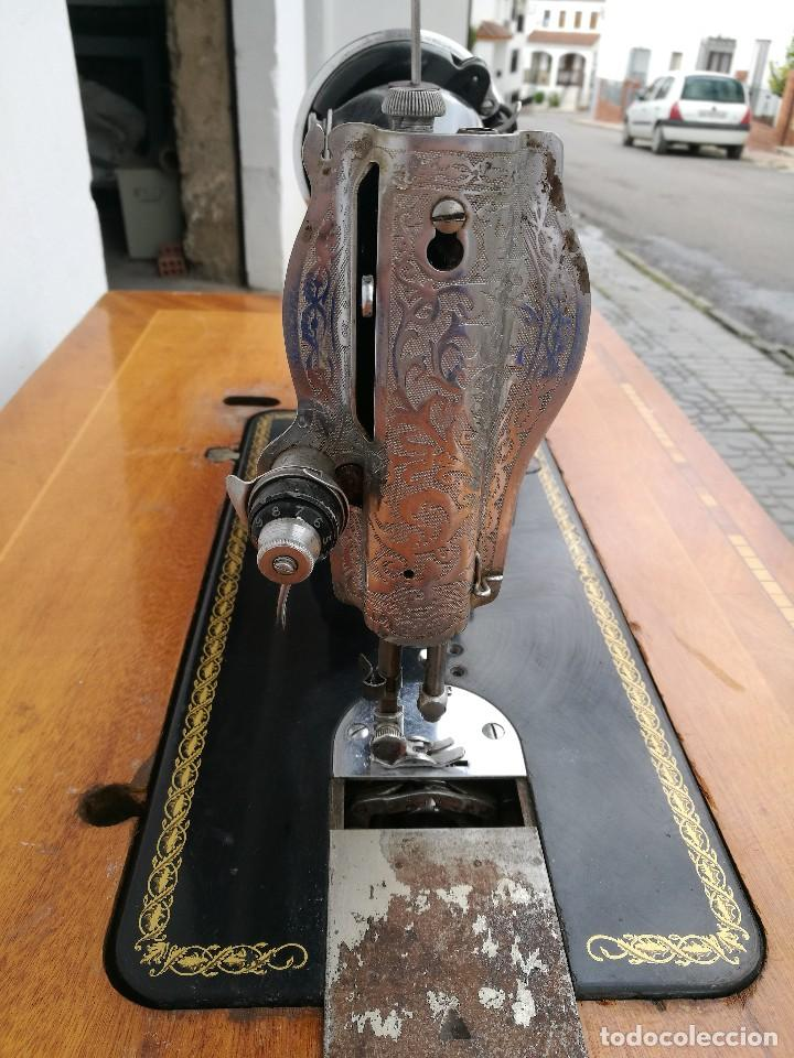 Antigüedades: Máquina de coser ALFA - Foto 10 - 119365007