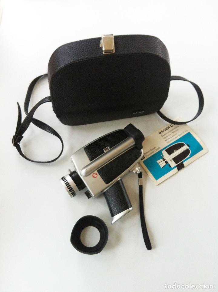 BAUER C 1 M CÁMARA SUPER 8 (Antigüedades - Técnicas - Aparatos de Cine Antiguo - Cámaras de Super 8 mm Antiguas)