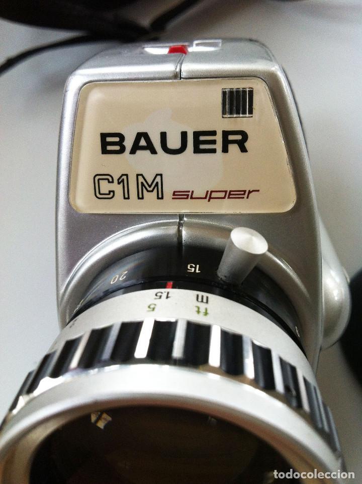 Antigüedades: BAUER C 1 M CÁMARA SUPER 8 - Foto 6 - 119366655