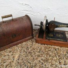 Antigüedades: MÁQUINA DE COSER SINGER. AÑO 1912. Lote 119367499