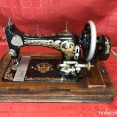 Antiquités: MÁQUINA DE COSER FRISTER & ROSSMANN ALEMANA, FUNCIONANDO PERFECTAMENTE . Lote 119380075