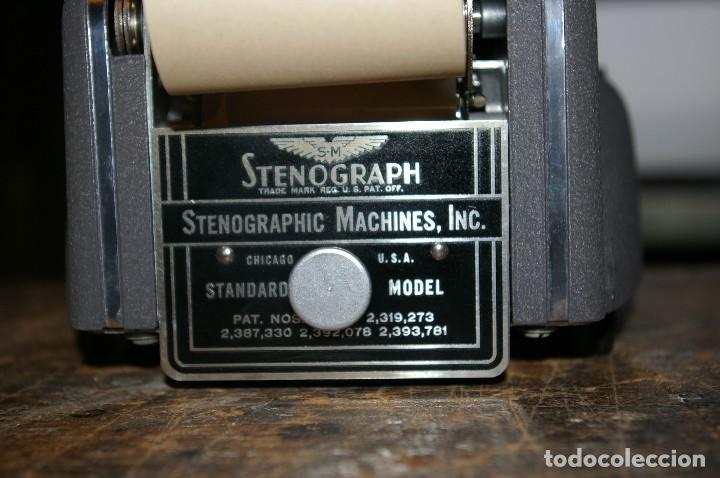 Antigüedades: maquina de estenotipia Stenograph - Foto 6 - 119381559