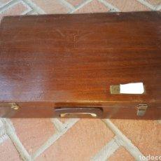 Antigüedades: CAJA DE TRANSPORTE MEDICO. Lote 119471767