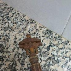 Antigüedades: ANTIGUA LLAVE PERRO LARGO 20,5 CM . Lote 119476267