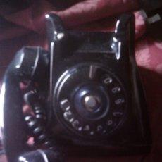 Teléfonos: ~~~~ ANTIGUO TELEFONO DE SOBREMESA DE BAQUELITA NEGRO ~~~~. Lote 119492475