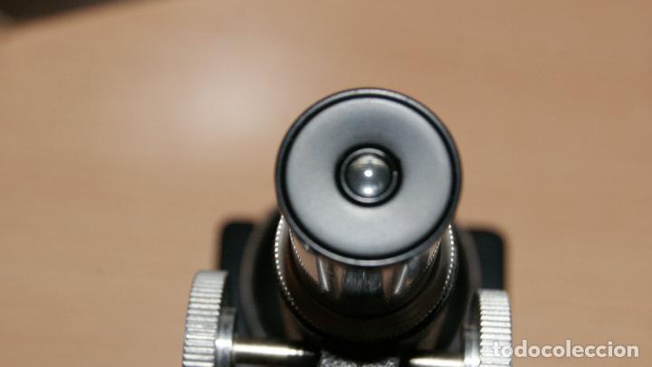Antigüedades: Microscopio EIKOW Tokio Japan nº 350 de 100 x 200x y 300 x - Foto 10 - 119527995