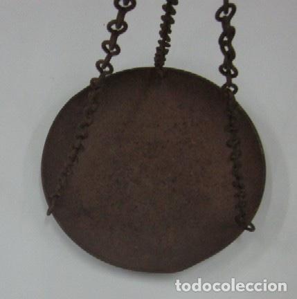 Antigüedades: ANTIGUA BALANZA DE PLATOS - Foto 2 - 119604559
