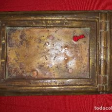 Antigüedades: ANTIGUA PUERTA DE REGISTRO DE BRONCE. Lote 119634127