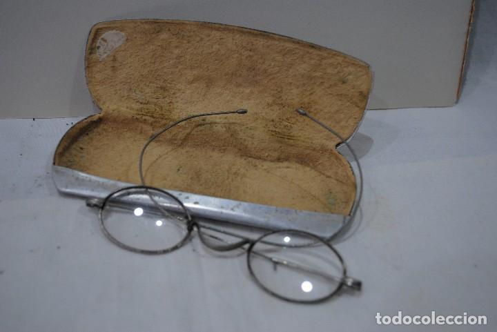 GAFAS ANTIGUAS CON FUNDA (Antigüedades - Técnicas - Instrumentos Ópticos - Gafas Antiguas)