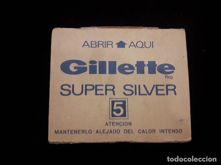 Antigüedades: displey hojas de afeitar gillette - Foto 4 - 119947719