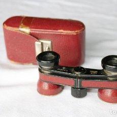 Antigüedades: BINOCULARES BRITÁNICOS MARCA THEASTAR RATHENOW CON SU FUNDA ORIGINAL.. Lote 119951507