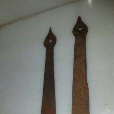 Antigüedades: ALDABAS ANTIGUAS DE PORTON. Lote 119956656