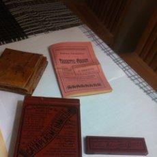 Antiquitäten - Antigua caja metálica Cataplasma Hamilton completa y instrucciones - 120000176