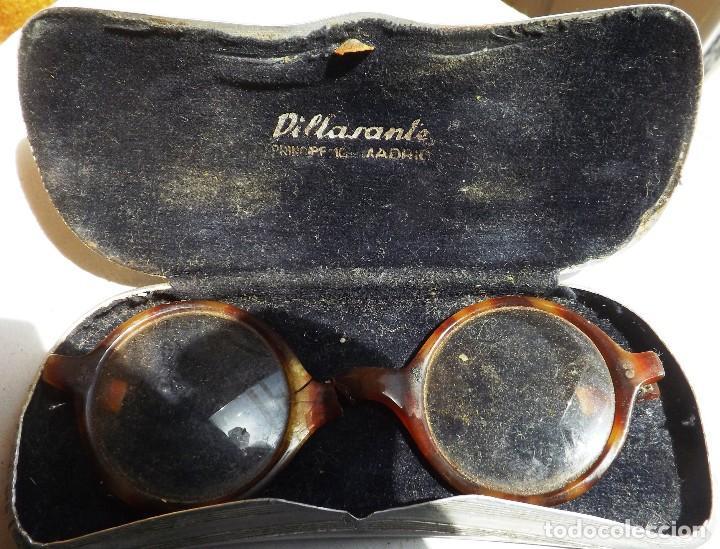 Antigüedades: caja para gafas de aluminio años 30 - Foto 2 - 120098607