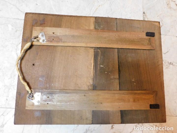 Antigüedades: PLANCHA ANTIGUA DE COBRE PARA IMPRENTA [GRANDE] REJONEADOR DE CAMPO - Foto 3 - 120154927