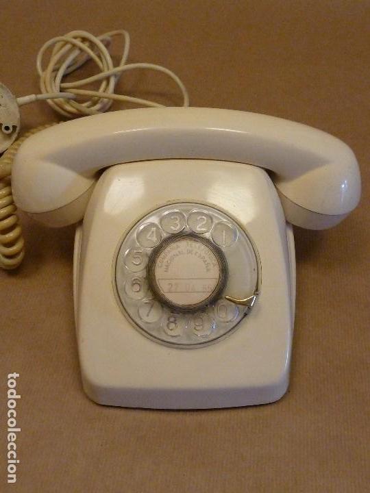 Teléfonos: Teléfono vintage Heraldo de sobremesa, años 70, de color crema-beige - Foto 2 - 120319299