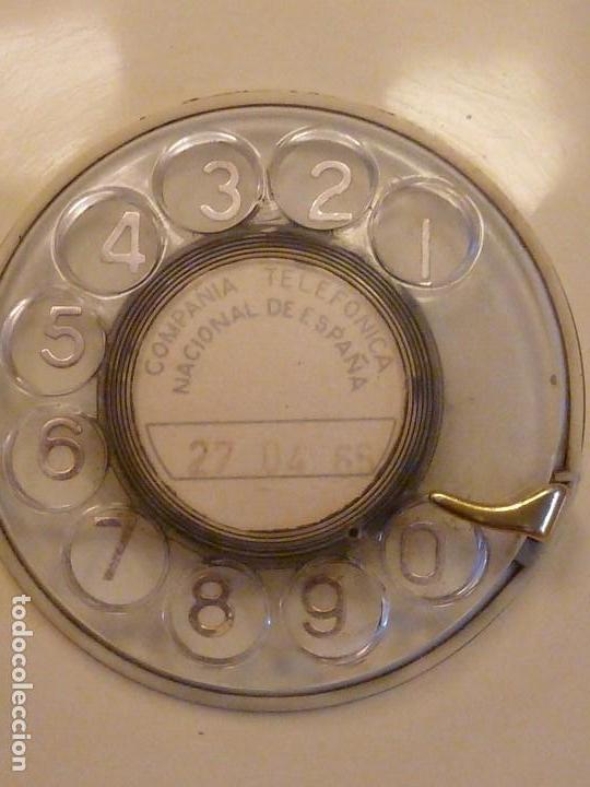 Teléfonos: Teléfono vintage Heraldo de sobremesa, años 70, de color crema-beige - Foto 3 - 120319299