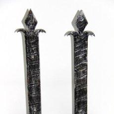 Antigüedades: APLIQUES HIERRO FORJADO. Lote 120327947