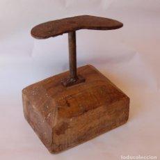 Antigüedades: YUNQUE DE ZAPATERO ANTIGUO. Lote 120366911