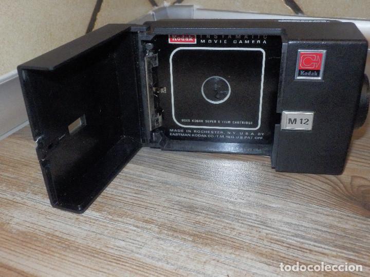 Antigüedades: Cámara Kodak - Super 8 - Con funda - Instamatic M-12 - Excelente estado - - Foto 11 - 120368111
