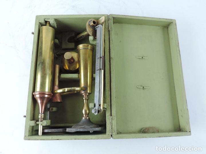 Antigüedades: ANTIGUO ALCOHOLÍMETRO, DENSIMETRO PARA ALCOHOLES, EN EL ESTUCHE PONE G. POITEVIN, OPTICIEN, BORDEAUX - Foto 9 - 120483511