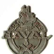 Antiquitäten - Placa - SOCIEDAD ESPAÑOLA DE CONSTRUCCION NAVAL - La Naval - Astillero - 120549863