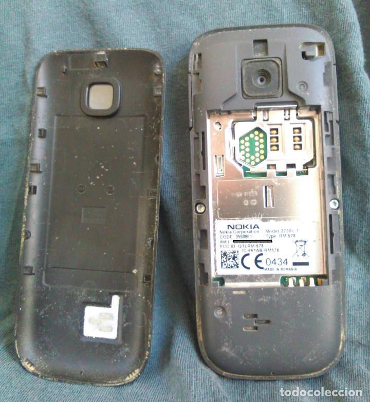 Teléfonos: Teléfono Móvil Nokia 2730 Classic, con cargador original. Funciona, con pantalla rota. - Foto 2 - 61769976