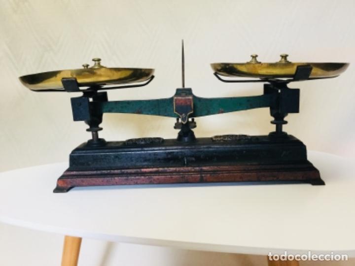 BALANZA (Antigüedades - Técnicas - Medidas de Peso - Balanzas Antiguas)