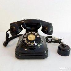 Teléfonos: TELÉFONO DE BAQUELITA TELEFÓNICA DE ESPAÑA CTNE AÑOS 50. Lote 120743067