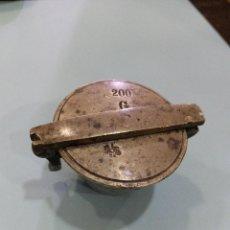 Antigüedades: ANTIGUO PONDERAL DE FARMACIA. Lote 120924519