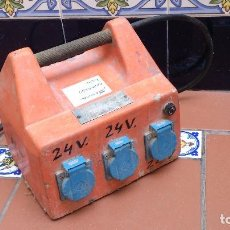 Antigüedades: TRANSFORMADOR 220V - 24V. Lote 121025207