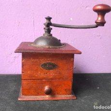 Antigüedades: ANTIGUO MOLINILLO DE CAFÉ, PEUGEOT FRERES - PERFECTO. Lote 217710763