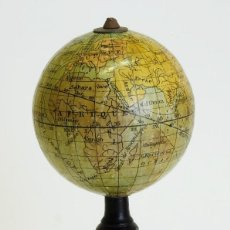 Antigüedades: 1914CA - GLOBO TERRAQUEO MINIATURA 6CM. - POCKET TERRESTRIAL GLOBE - LEBEGUE. Lote 121108811