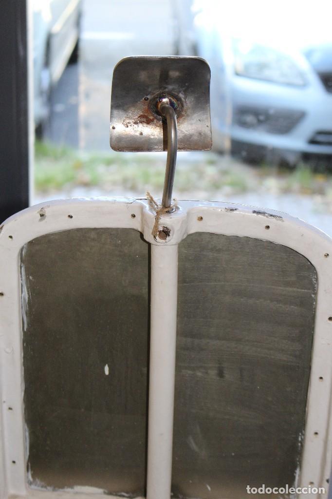 Antigüedades: sillón medico de hierro fundido y acero. industrial años 20 - Foto 6 - 121128075