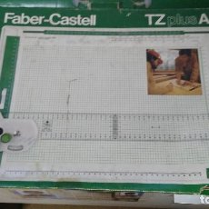 Antigüedades: ANTIGUA REGLA FABER CASTELL TZ PLUS A3. Lote 121132479