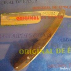 Antigüedades: (NA-180500)NAVAJA FILARMONICA - DOBLE TEMPLE - 14 JOSE MONSERRAT POU. Lote 121143275