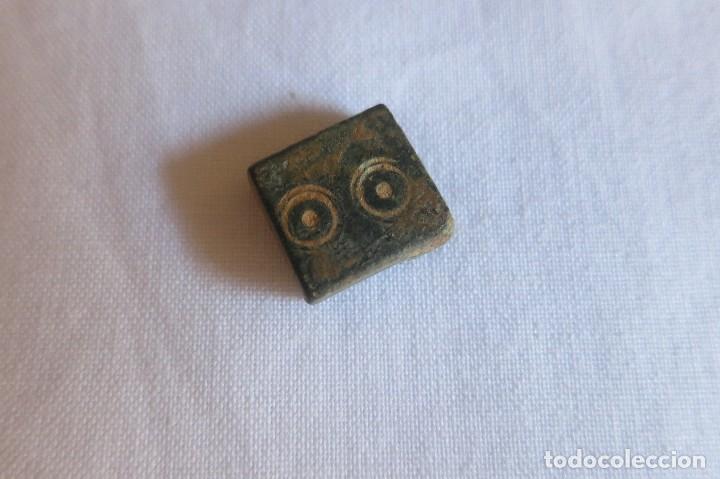 PONDERAL DE 2 DIRHAMS (Antigüedades - Técnicas - Medidas de Peso - Ponderales Antiguos)
