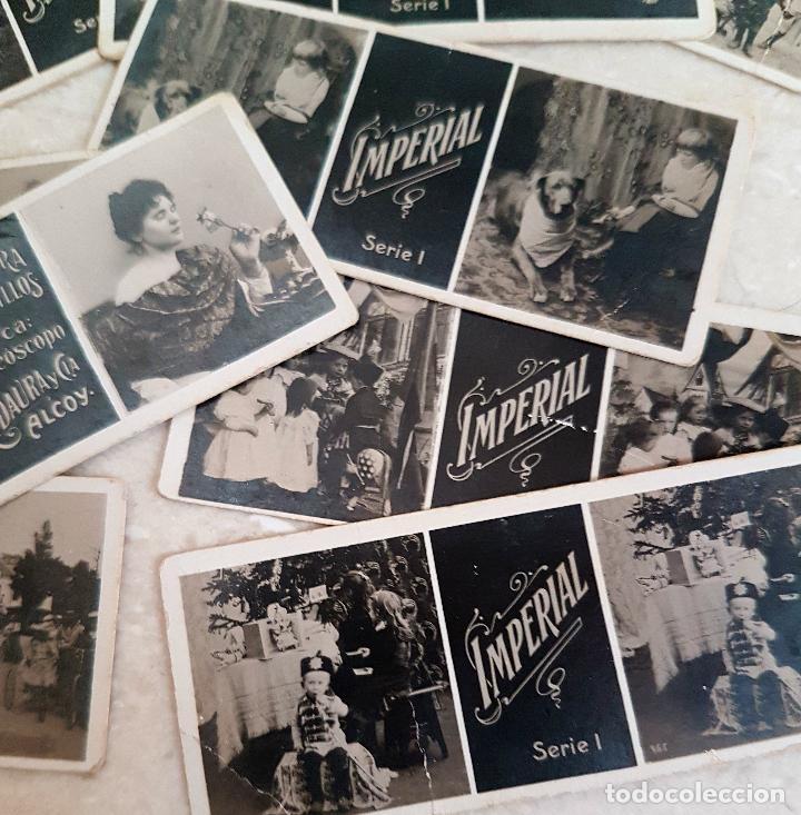 Antigüedades: ANTIGUO APARATO ESTEREOSCOPICO PUBLICITARIO DE LATA LITOGRAFIADA IMPERIAL,PLEGABLE Y LOTE DE VISTAS - Foto 9 - 121178387