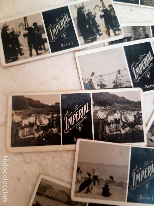 Antigüedades: ANTIGUO APARATO ESTEREOSCOPICO PUBLICITARIO DE LATA LITOGRAFIADA IMPERIAL,PLEGABLE Y LOTE DE VISTAS - Foto 10 - 121178387