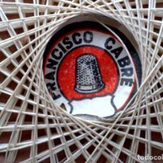 Antigüedades: LOTE DE 4 DISQUETTES ANTIGUOS DE HILO,FRANCISCO CABRÉ-NUEVO-SIN USAR. Lote 121218635