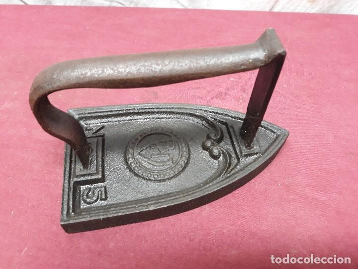 PLANCHA DE HIERRO P.H. Nº 5 CO XX (Antiquitäten - Technische - Antike Bügeleisen - Eisen)