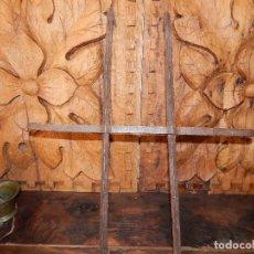 Antigüedades: REJA DE VENTANA FORJA DEL XVIII. Lote 121524755