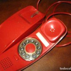 Teléfonos: ANTIGUO TELEFONO GONDOLA - AÑOS 60/70 - COLOR ROJO. Lote 121536955