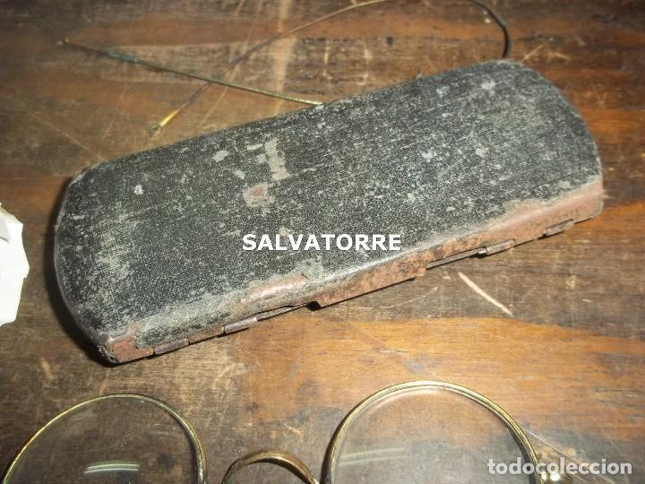 Antigüedades: GAFAS ANTIGUAS CON CAJA. - Foto 5 - 121564175