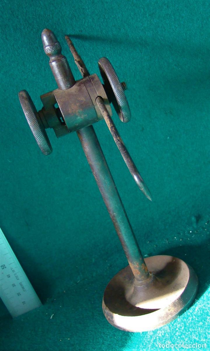 Antigüedades: ANTIGUO GRAMIL PARA MARCAR METALES. MECANICO. TORNERO. MATRICERO. - Foto 11 - 121572595