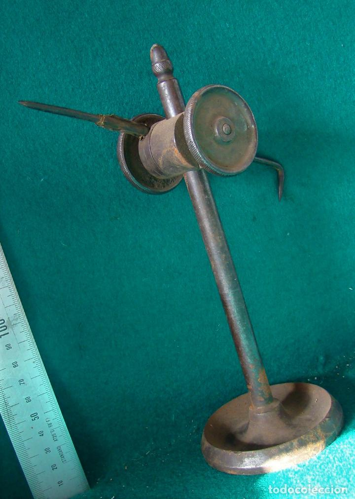 Antigüedades: ANTIGUO GRAMIL PARA MARCAR METALES. MECANICO. TORNERO. MATRICERO. - Foto 12 - 121572595