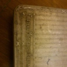 Antigüedades: CAJA MUY ANTIGUA DE URGENCIA MEDICA MUY RARA BONITA ORIGINAL. Lote 121622879