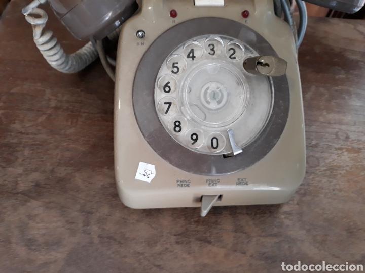 Teléfonos: Teléfono marron - Foto 2 - 121625072